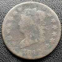 1812 Large Cent Classic Head One Cent 1c Rare Circulated #17715