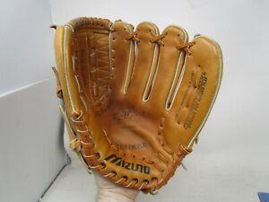 "Mizuno MT2000 12"" Leather Baseball Glove RHT Right Hand Throw"