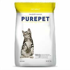 Indian Purepet Adult 1 Year) Dry Cat Food, Sea food, cat Meal ,Pet Food, 7 kg