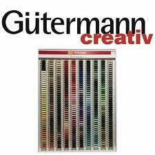Gutermann Sew-todo 100% Poliéster Hilo 100m mano y máquina de coser de 000 a 399