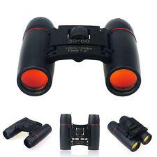 Day Night Vision Binoculars 30 x 60 Zoom Outdoor Travel Folding Telescope Bag US