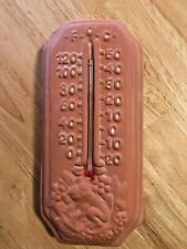 Garden Thermometer Terra-Cotta Victoria's Garden in Box