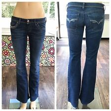Diesel Lowky Low Rise Bootcut Jeans Italy Women's Size 27 X 32