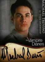 The Vampire Diaries Autograph Card Michael Trevino Tyler Lockwood A8 A