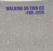 YOKO ONO Walking On Thin Ice (DJ Promo) 45 rpm NM