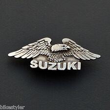 Sm) Suzuki volusia intruder marauder Savage Boulevard Motorcycle Metal Badge Pin