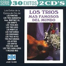 Various Artists : Los Trios Mas Famosos Del Mundo: 30 Exit CD