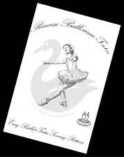 The Real Princess Ballerina Tutu Ballet Costume Sewing Pattern