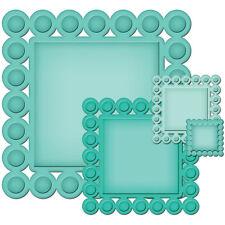 Spellbinders Nestabilities Beaded Squares 4 Dies