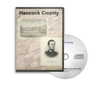 Hancock County, Maine ME History Culture Genealogy 8 Books - D345