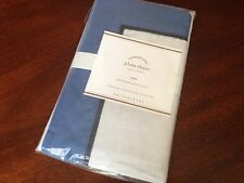 1 NWT Pottery Barn Plaza Euro Sham NWT 400 thread count Lapis Blue more availabl