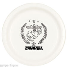 US MARINES DESSERT PLATE Party Supplies FREE SHIPPING