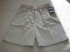 New With Tag NWT French Toast Tan Shorts Size 20 Prep W30 Two Pockets