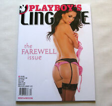 Kristie Taylor Playboy's Lingerie Magazine The Farewell Issue January 2013 New