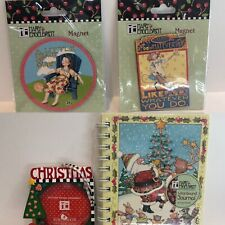 Lot of 4 Mary Engelbreit Collectables Items- Free Shipping