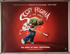 Cinema Poster: SCOTT PILGRIM VS THE WORLD 2010 (Advance Quad) Michael Cera