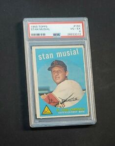 1959 Stan Musial 📀 PSA 4 📀HOF Topps #150