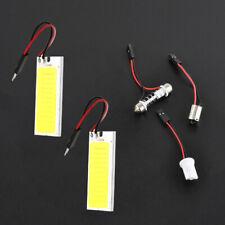 2pcs T10 36 COB LED DC 12V Car Interior White Dome Map Light Bulbs Panel Lamp P