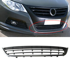 New 2009-12 Volkswagen VW CC Bumper Grille with parking aid hole covers