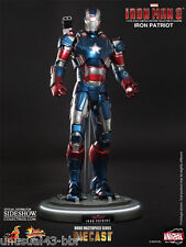 Hot Toys Iron Man 3 Iron Patriot 1/6th Collectible Figure MMS195 Free Shipping