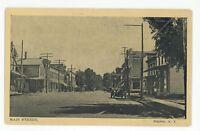 Main Street 1916 NAPLES NY Finger Lakes Ontario County Postcard