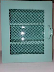 Metal Locker Cabinet Office Storage Organizer Bedside Nightstand Side End Table