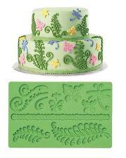 "Wilton:diseño de tartas: fondant molde ""Hojas"" molde silicona"
