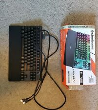 Steelseries Apex Pro TKL Gaming Keyboard USED in great condition
