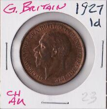 GREAT BRITAIN 1927 | PENNY 1d | CH AU ORIG