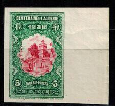 Algérie timbre N° 99 bord de feuille non dentelé Neuf **