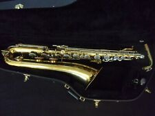QUALITY BUNDY II By THE SELMER COMPANY BARITONE BARI SAXOPHONE + MPIECE + CASE