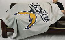 Northwest NFL Football San Diego Chargers Sweatshirt Throw Blanket - Grey