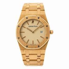 Audemars Piguet Royal Oak 56175 Unisex Quartz Watch 18K Rose Gold 33mm