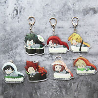 1pc Boku No Hero Academia My Hero Academi Key Chain Acrylic Todoroki Shouto Gift