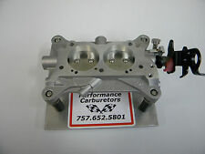 Holley QFT AED CCS 2 BBL 4412 80583-1 500CFM Racing Circle Track Base Plate Assy