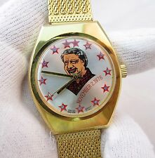 """JIMMY CARTER,""""Election Day"""" 11/2/76,Manual Wind,RARE! MEN'S CHARACTER WATCH,570"""