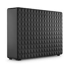 "Seagate 4TB Expansion 3.5"" External Hard Drive Fast Data Transfer With USB 3.0 C"