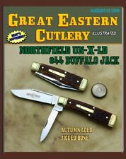 GREAT EASTERN CUTLERY KNIFE- NORTHFIELD UN-X-LD - #44 BUFFALO JACK {GUNSTOCK}