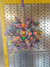 New listing small/medium Parrot Toy *Firecracker*perfect for pluckers and foraging