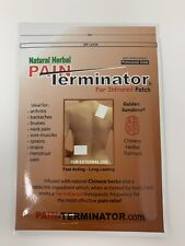 Pain Terminator Far Infrared Herbal Patch By Golden Sunshine Buy 5 Get 1 Free!