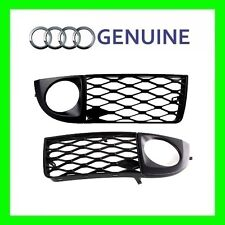 GENUINE NEW OEM Audi A6 C5 Front Bumper Fog Light Grille  PAIR