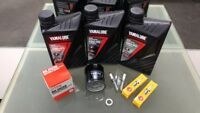 Yamaha Tracer 700 MT07TR Service Kit Filter 5GH-13440 plugs LMAR8A9 Yamalube oil