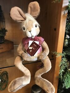 """Charlie Bears """"Speedy"""" 17"""" The Tale Of The Hare & The Tortoise New W/tag Retired"""