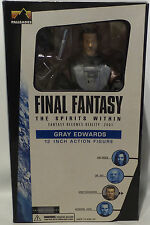 FINAL FANTASY THE SPIRITS WITHIN : GRAY EDWARDS BOXED ACTION FIGURE. (MLFP)