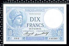 France / 10 francs 1936 / Minerve / Spl / N° F.67592-095