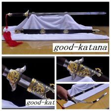 """High Quality Stainless Steel Chinese Sword """"TaiJi Swords""""(劍) Good Elasticity#213"""