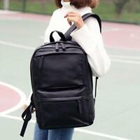 Men Women Leather Backpack Laptop Satchel Travel School Bag Rucksack HOT TYPE