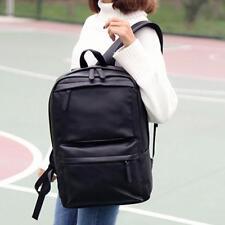 Vintage Men Women Leather Backpack Laptop Satchel Travel School Bag Rucksack.Gif