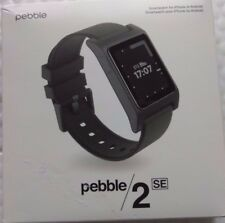 Pebble 2 SE Smartwatch for Android or iOS - Black  Open Box Excellent Condition