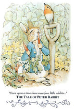 Beatrix Potter Tale Peter Rabbit Art Print POSTER cute Poster Print, 13x19